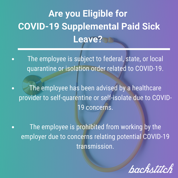 Are you Eligible for COVID Supplemental Paid Sick Leave_