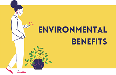 Paperless documents also are environmentally friendly.