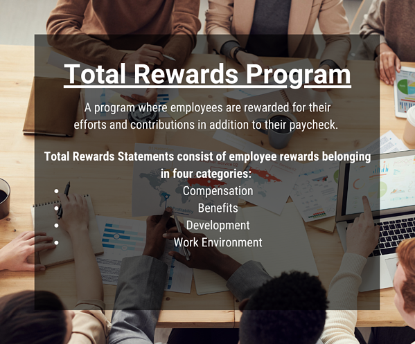 Total Rewards Programs typically convey four categories