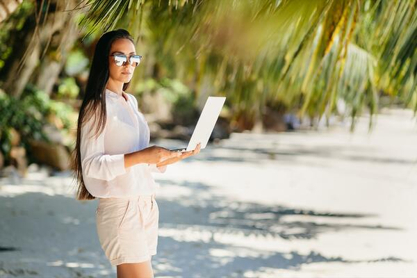 Many employees can work remotely from anywhere.
