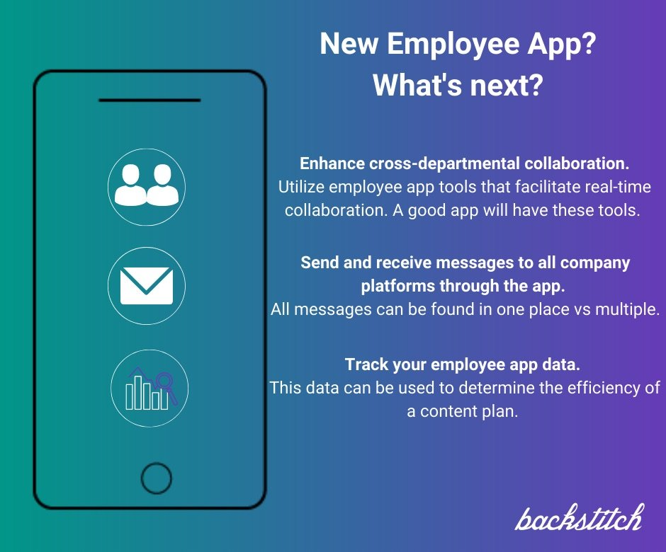 What should your organization use your employee app for?
