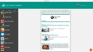 Craft employee newsletters