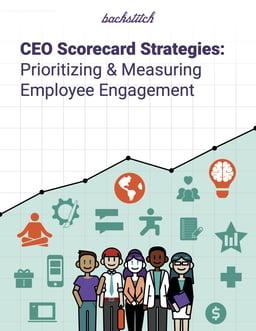 Ebook cover covering executive scorecard strategy.