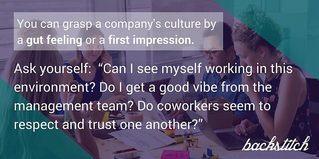 Your employees have an instinctive recognition of the status of your company culture.