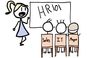 Teaching HR to Sales, IT and Management