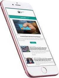 Mobile employee newsletter
