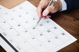 A content calendar is a fantastic way to manage your communications plan.